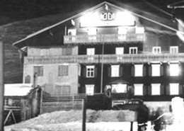 History of The Elsensohn Hotel Enzian in Zürs am Arlberg