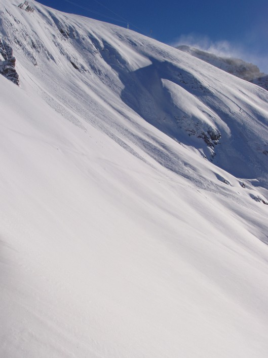 Photo Deep Snowy Mountain - for the people in Zürs am Arlberg